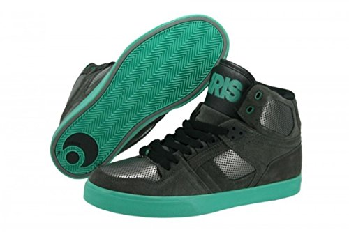 Osiris Skate Shoes --NYC 83 VLC-- Charcoal/Gunmetal/Teal
