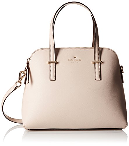 kate spade new york Cedar Street Maise Satchel Bag, Crisp Linen, One Size by Kate Spade New York