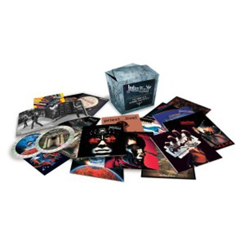 Judas Priest - The Complete Albums Collection by Judas Priest Box set, Limited Edition edition (2012) Audio CD (Judas Priest Cd Box Set)