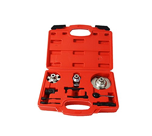 TECHTONGDA Audi VAG Timing Setting Locking Tool Set A4 A5 A6 A8 Q5 Q7 2.7Tdi 3.0Tdi V6 (Set A8 Audi)