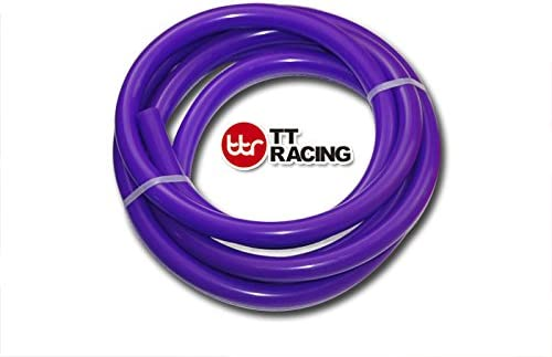 6mm 10ft 3m Purple Silicone Vacuum Tube Hose Tubing for Air Coolant//Water 1//4