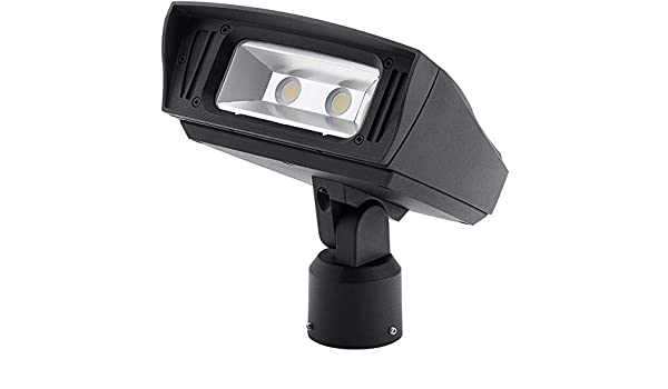 Kichler 16222BKT30SL Transitional Flood from Landscape LED Collection in Black Finish 7.00 inches