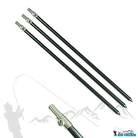 3 pieza Juego de aluminio Banco Stick 50 - 90 cm banco Stick ...