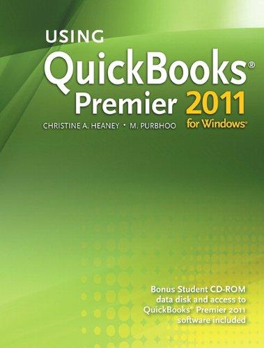 Using QuickBooks Premier 2011 for Windows