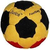 Juice 32-Panel Footbag, Red/Yellow/Green/Black