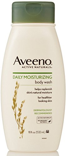AVEENO Active Naturals Daily Moisturizing Body Wash 18 oz (Pack of 10) by Aveeno