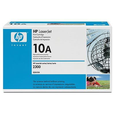 Hewlett Packard OEM Toner Cartridge Q2610A (1 Cartridge) (Q2610A) - - Hewlett Packard Ink Cartridges 60
