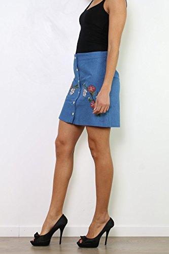 CHERRY PARIS - Vestido - para mujer Azul