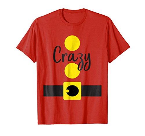 Crazy Dwarf Halloween Costume Shirt, Matching Dwarves Set ()