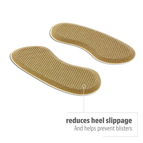 Sof Sole Heel Liner Cushions for Improved Shoe Fit and Comfort, 2 Pair by Sof Sole (Image #2)