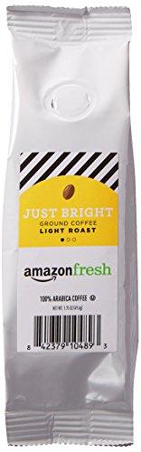 AmazonFresh Just Bright, 100% Arabica Coffee, Light Roast, Ground, 1.75 Ounce
