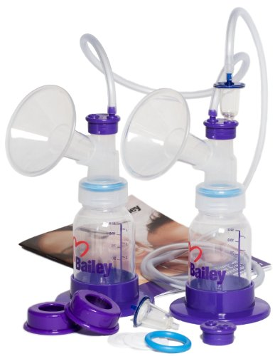 Nurture III Basic Double Breast Pump Collection Kit