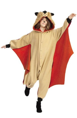 RG Costumes 'Funsies' Skippy The Flying Squirrel, Child Small/Size 4-6