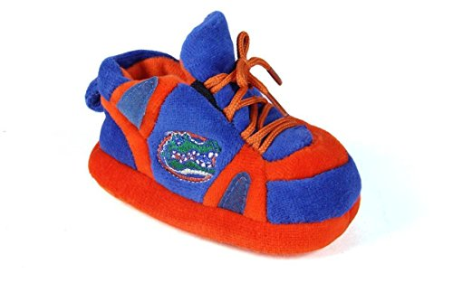 FLO03PR - Florida Gators NCAA Happy Feet Baby Slippers