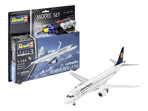Revell 63937 Embraer 190 Lufthansa Model Set from Revell