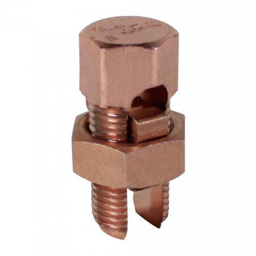 Orbit SBCC-30 Split Bolt Connector, Brass for Copper to Copper - #3/0 STR - #2 ()