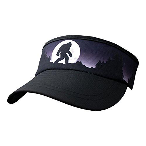 - Headsweats Supervisor Bigfoot Moon Rising Headwear, Blue, One Size