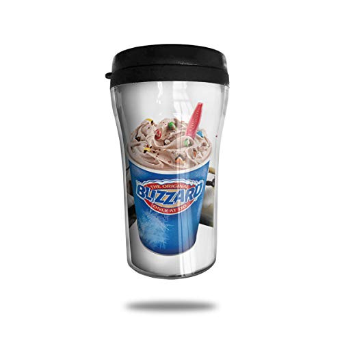 WIWIS Dairy Queen Councilbluffs 20 Food Or Ice Cream 8oz Coffee Mug Travel Cup (Best Dairy Queen Blizzard)