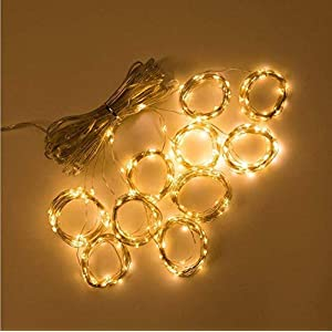 LED Curtain Lights,New-USB Fairy Lights,IP67 Waterproof,8 Modes,3M × 3M Window Icicle String Lights with Remote Control…