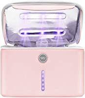 59S Sac de Stérilisateur UV avec 12 UVC LEDs, Portable Extra Large Boîte de Stérilisateurs UV pour Téléphone Portable,...