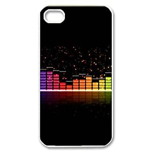 Hard Shell Case Of Music Customized Bumper Plastic case For Iphone 4/4s