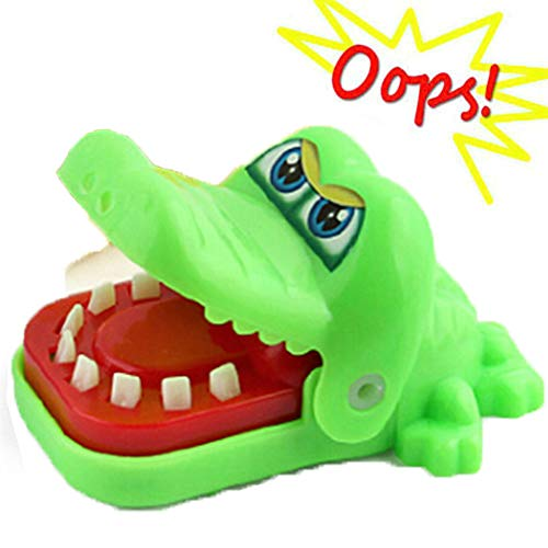 Crocodile Dentist - Animal Biting Finger Game Funny Toys, Gifts for Ages 4 and Up, 4 Types, Random Color
