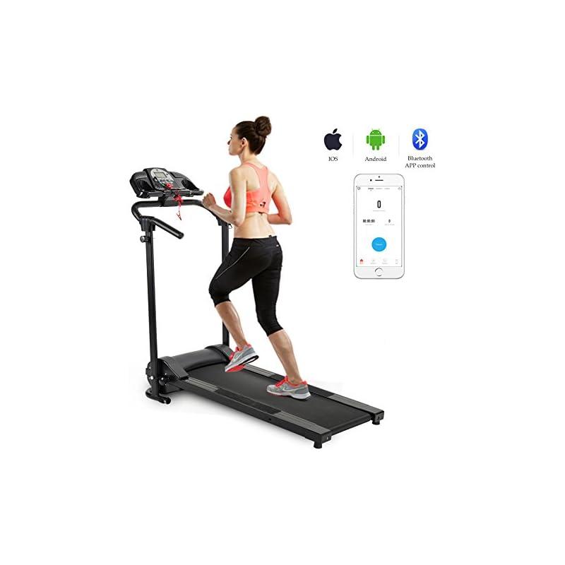 ZELUS Folding Treadmill Electric Motoriz