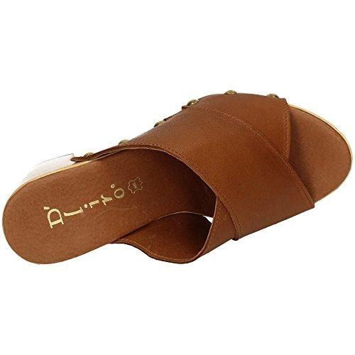 sandales Cuir Dliro femme Dliro femme sandales 5vOn8wxq