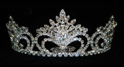 #15705 Pageant Prize Tiara - 2.5