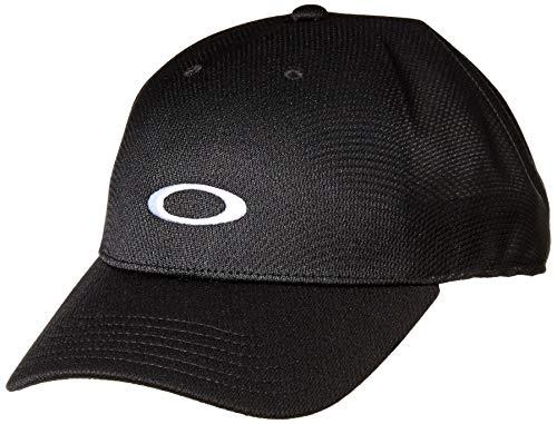 Oakley Mens Men's TECH Cap, Blackout, S/M