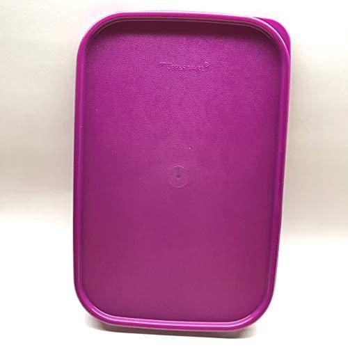 """Tupperware Modular Mates Rectangular Replacement Seal Lid 1610 Purple 10.75"""" X 7"""" -  TupperwareBrands"""