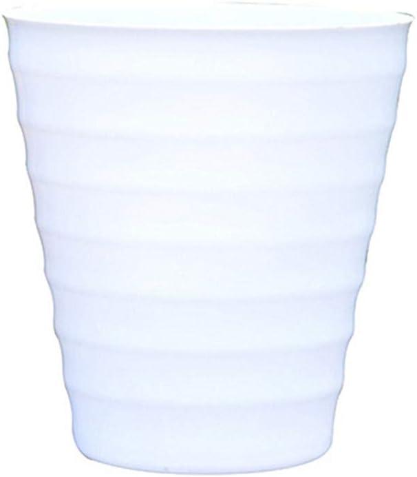 BOENTA Maceta Ceramica Macetas Pequeñas Al Aire Libre Macetas Semillas de ollas Macetas pequeñas para Interior Macetas de Flores Pequeña Planta de Marihuana White