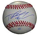 Toronto Blue Jays Tim Redding Autographed Hand Signed Baseball with Proof Photo of Signing and COA, New York Yankees, NY Mets