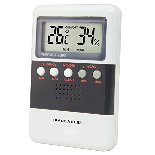Control Company 4096 Traceable Memory Humidity/Temperature Meter by Control