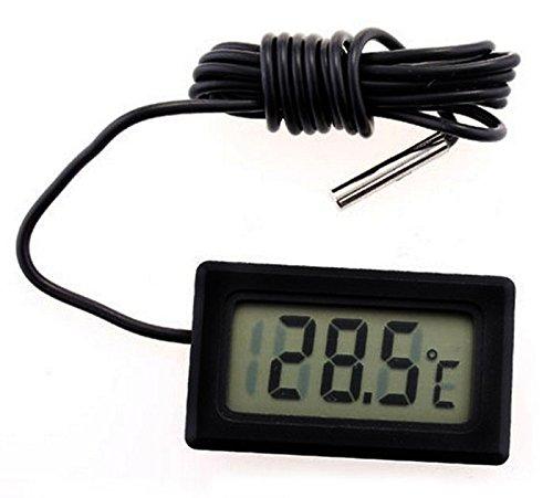 Price comparison product image DZT1968 Digital LCD Thermometer Temperature Sensor Fridge Freezer Thermometer (-50~ +110°C)