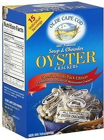 Olde Cape Cod Oyster Cracker Multi Pack 7.5 oz Cape Cod Oyster