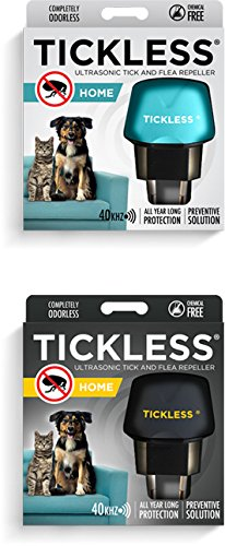 SonicGuard Tickless Home Ultrasonic Tick & Flea Repeller for Pets (Socket Outlet, 220V), Black