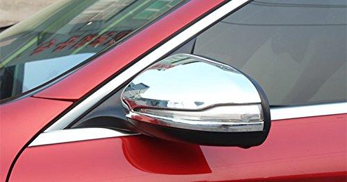 Marco de espejo retrovisor ABS cromado 2 unidades