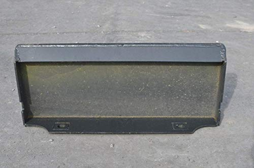 RepSupplements 1/4'' Thick Steel Mount Plate Mini Skid Steer by RepSupplements