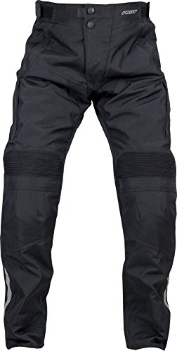 (Pilot Motosport Men's Dura Motorcycle Over Pants (34-36) (Black, Large))