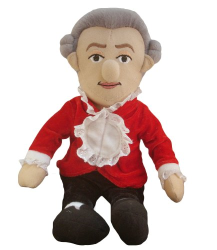 Wolfgang Amadeus Mozart - Little Thinker - Plush Doll