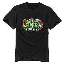 Plants Vs Zombie O-Neck T Shirt For Men New Coming T-shirt