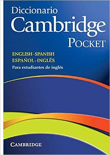 Diccionario Cambridge Pocket. English - Spanish Español - Inglés: Amazon.es: Cambridge University Press: Libros en idiomas extranjeros