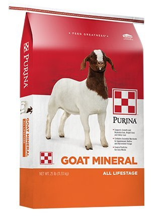 Purina Goat Mineral Goat Supplement, 25 lb Bag by Purina