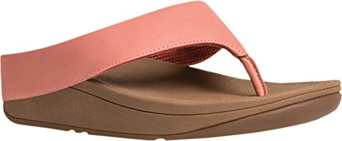 6e779dff12b3a1 Galleon - FitFlop Women s Ringer Toe-Thong Sandals Lipstick Rose 11