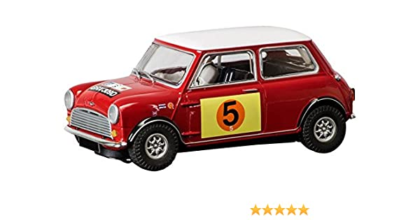 Amazon Scalextric Mini Cooper S RAC Rally 1966 Slot Car 132 Scale Toys Games