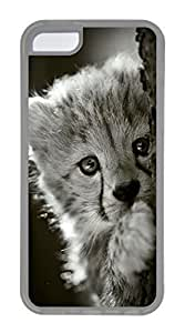 iPhone 5C Case, Customized Protective Soft TPU Clear Case for iphone 5C - Have A Look Cover