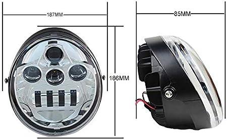 Faro LED da 60W Hi//Lo per fasci LED per VRSC VRSCA VRSCB VRSCF V-Rod