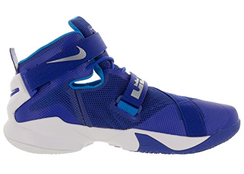 Metallic Blue Soldier Game White Royal Uomo Lebron Hero IX Sportive Silver Scarpe Nike qZx4AZ