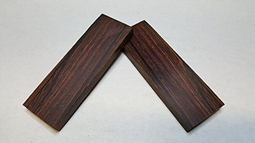 Cocobolo Knife Scales (Natural Wood Cocobolo Knife Scales)